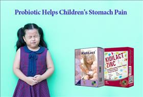 Probiotic Helps Children's Stomach Pain